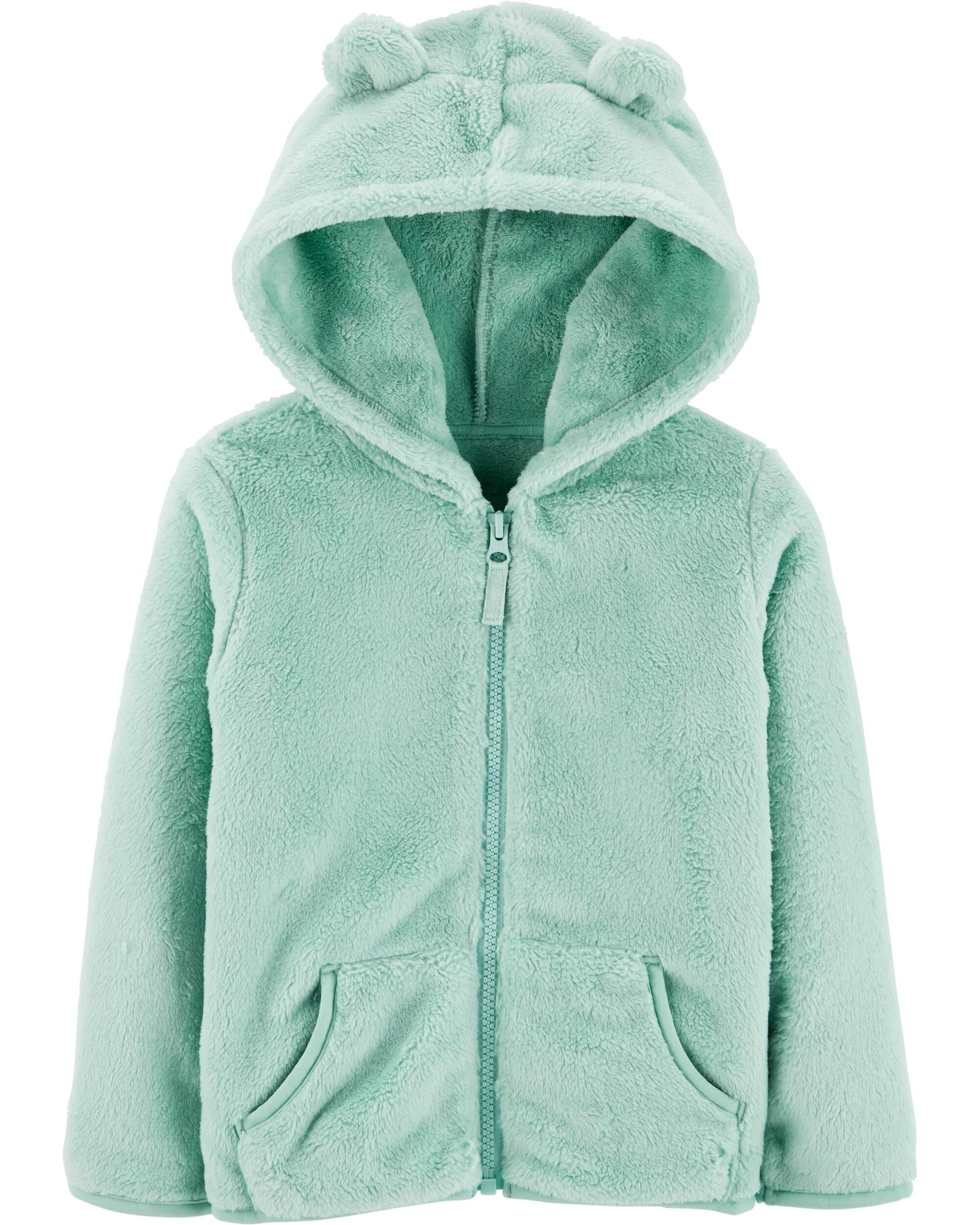 *CLEARANCE* Zip-Up Fuzzy Hoodie
