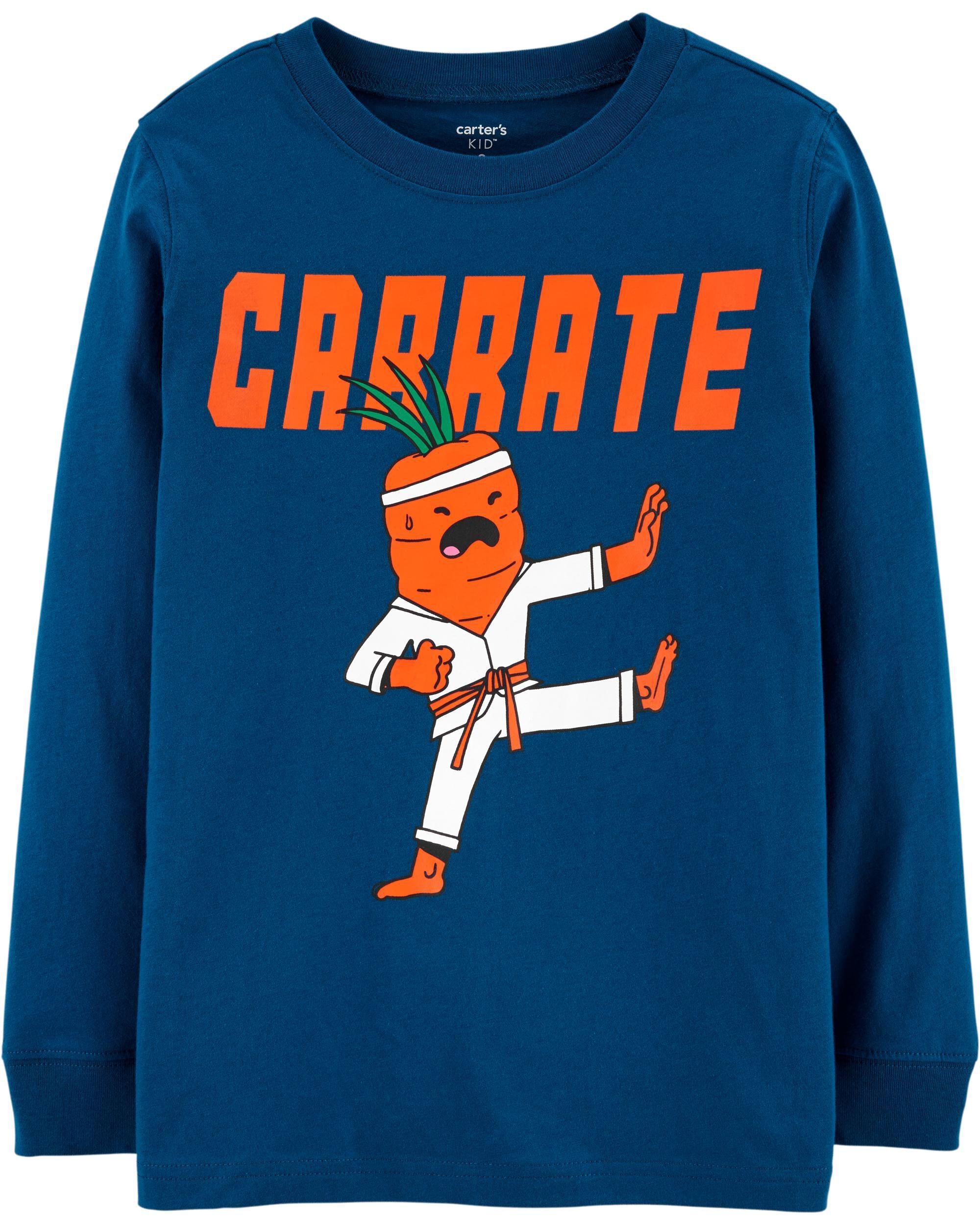 *DOORBUSTER* Karate Carrot Jersey Tee