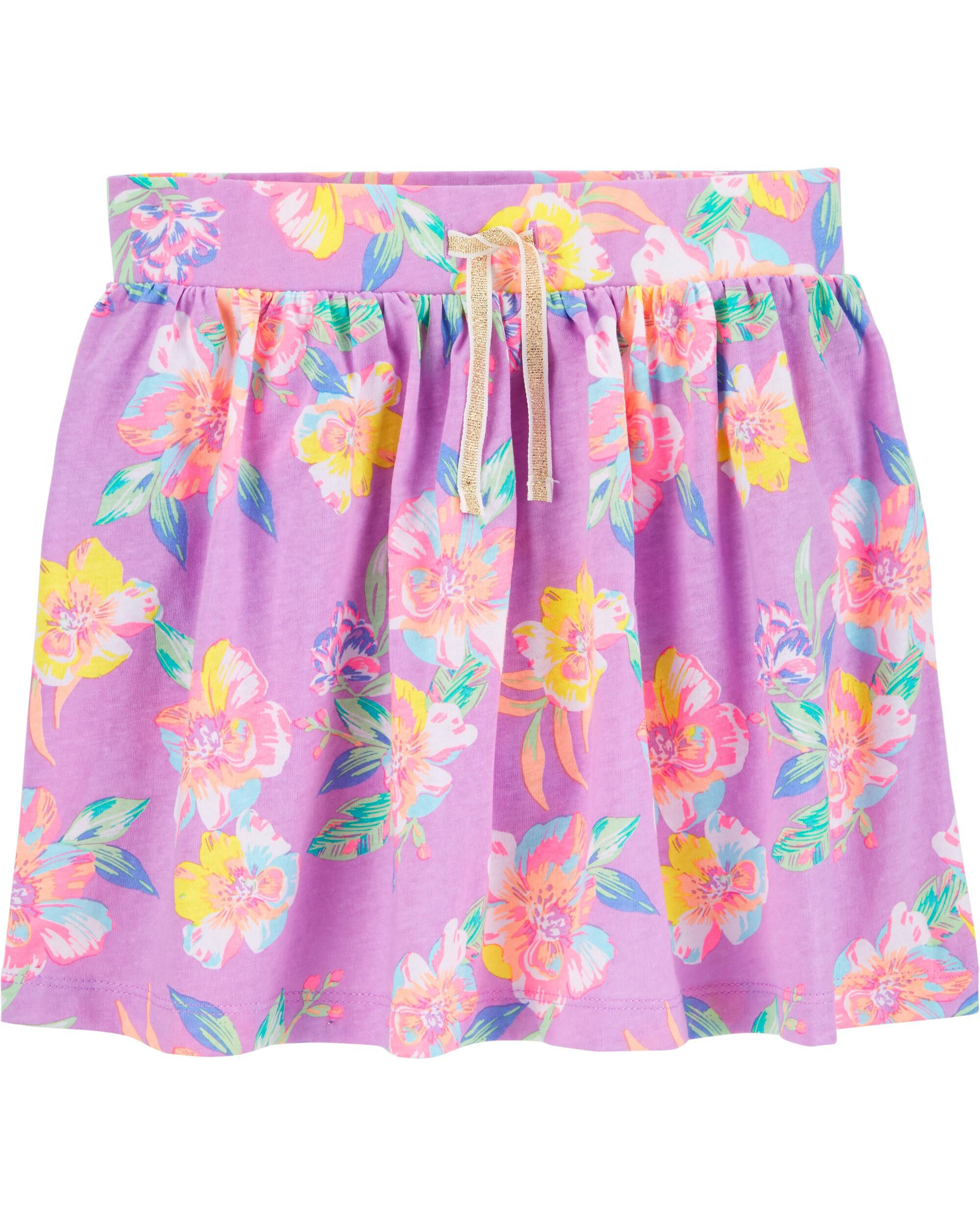 *CLEARANCE* Floral Skooter Skirt