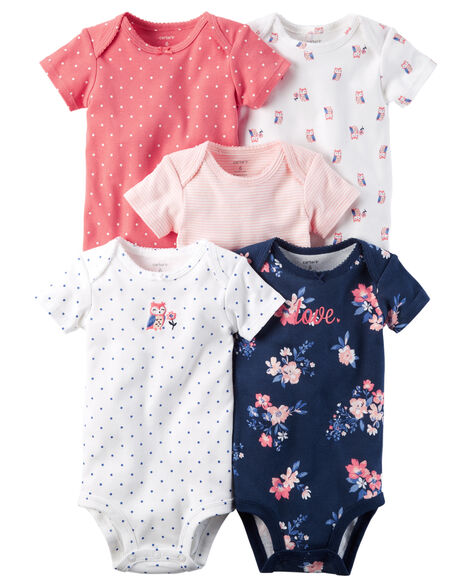 a272c97df 5-Pack Short-Sleeve Original Bodysuits