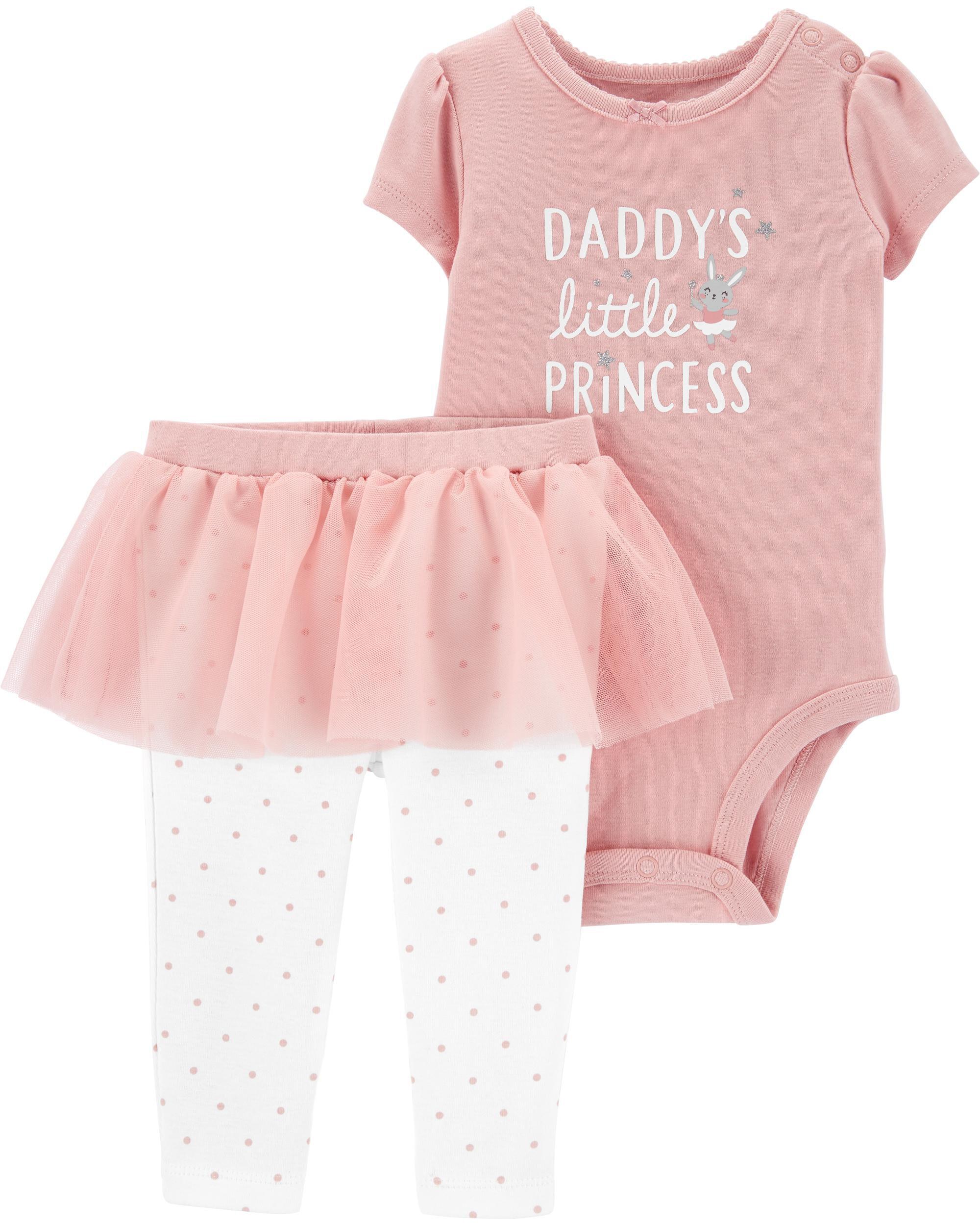 *CLEARANCE* 2-Piece Princess Bodysuit & Tutu Pant Set