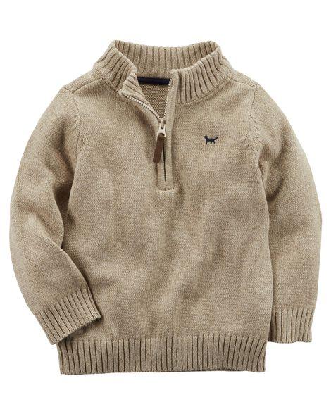 42613df3f90a Half-Zip Sweater