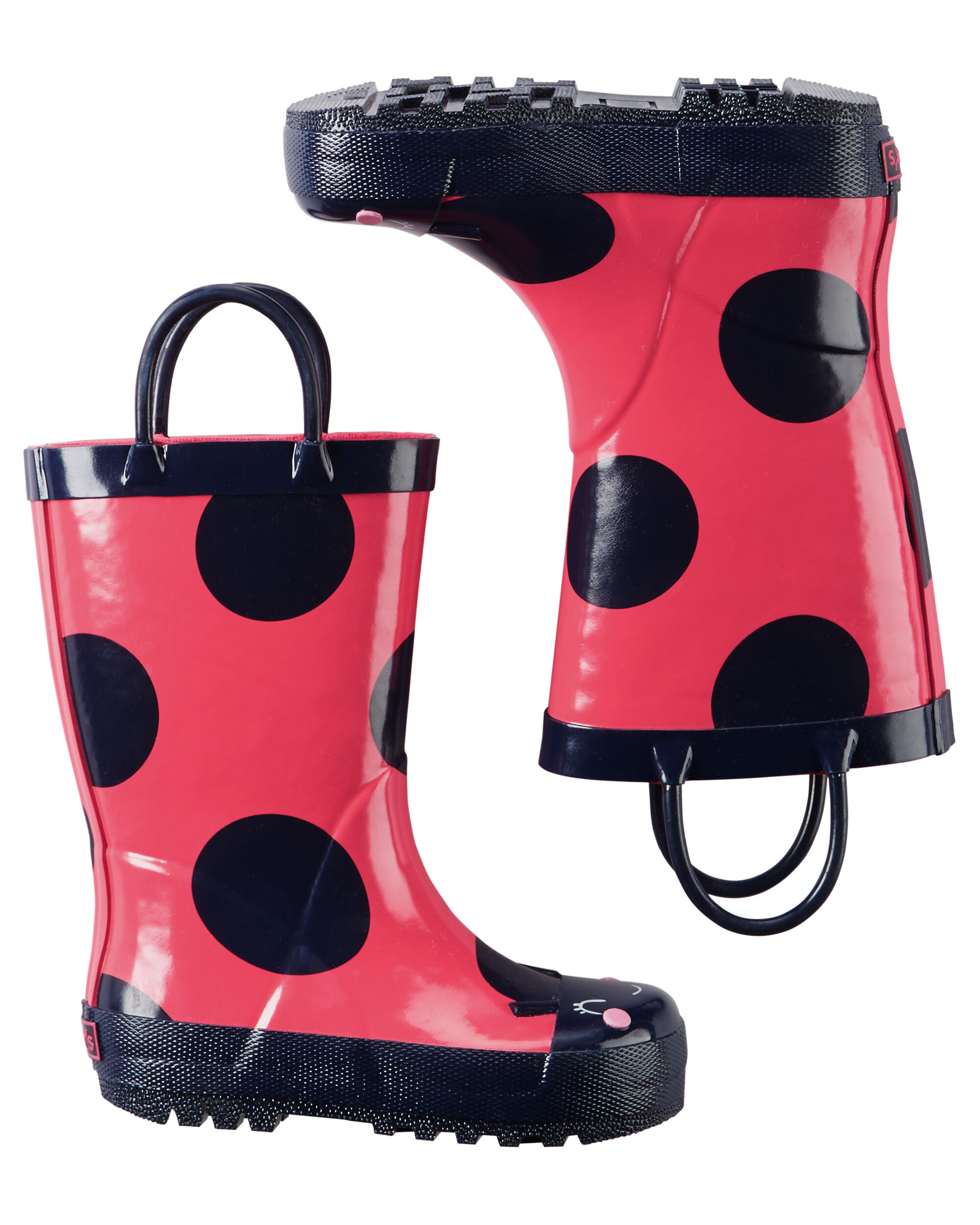 Lady Bug Rain Boots | Carters.com