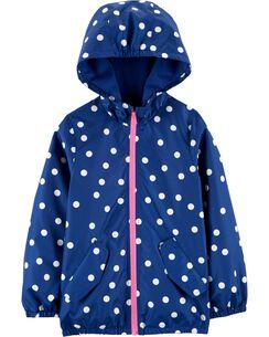 4fbde5bb Baby Girl Rain Jackets, Coats & Outerwear | Carter's | Free Shipping