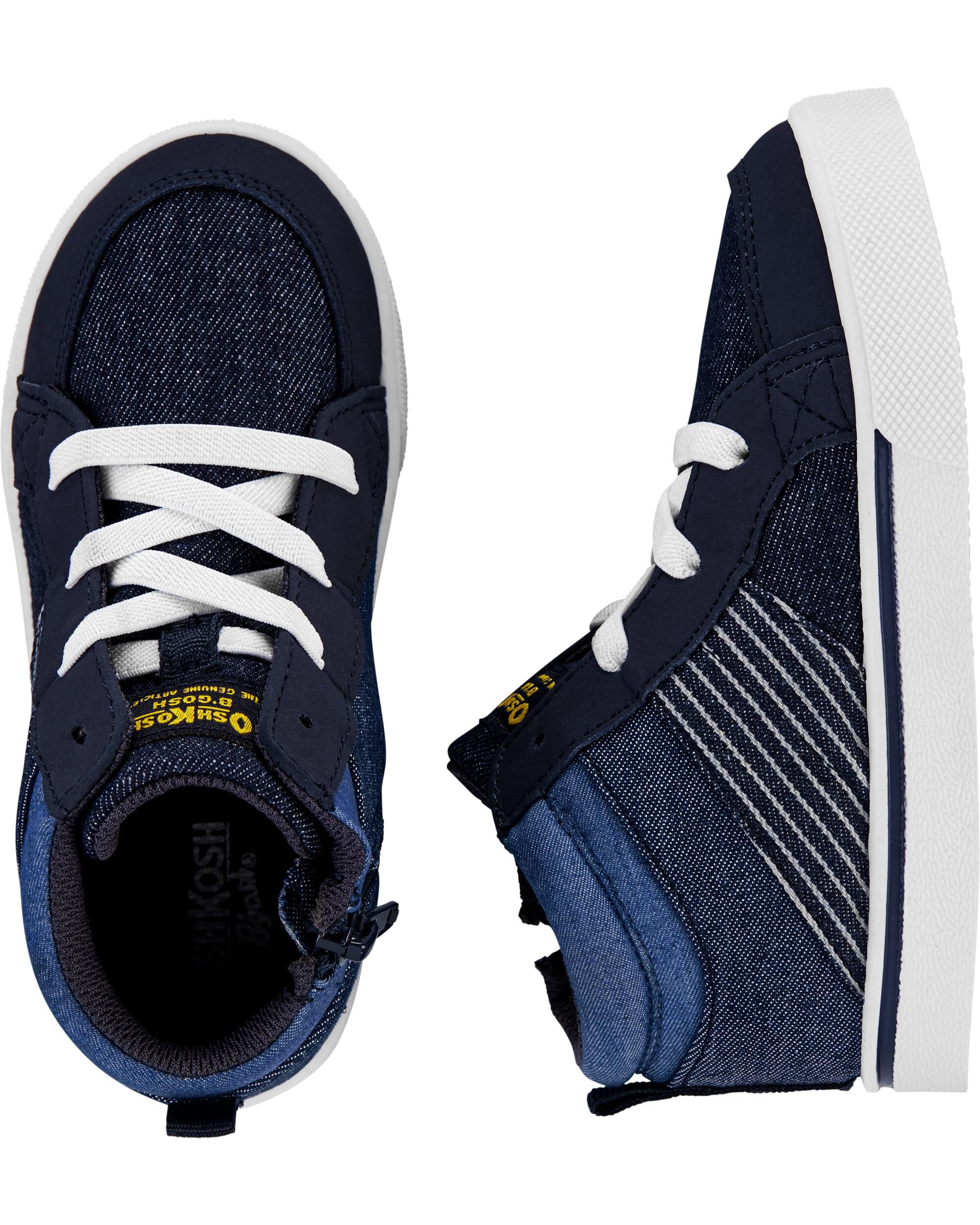 OshKosh Navy High-Top Sneakers