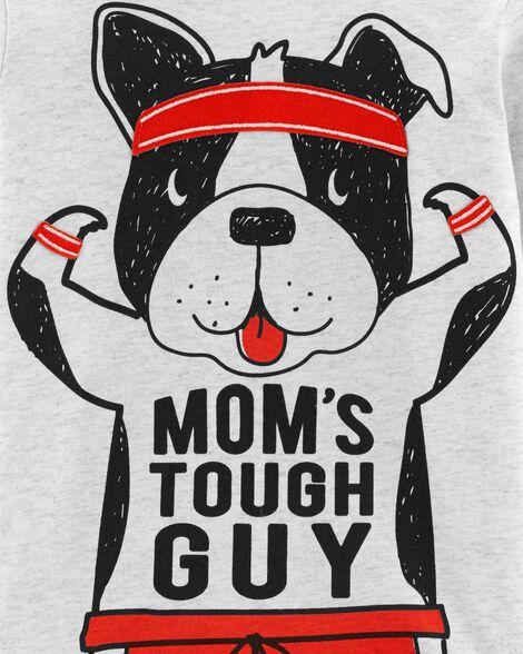 Dog Tough Guy Layered-Look Tee