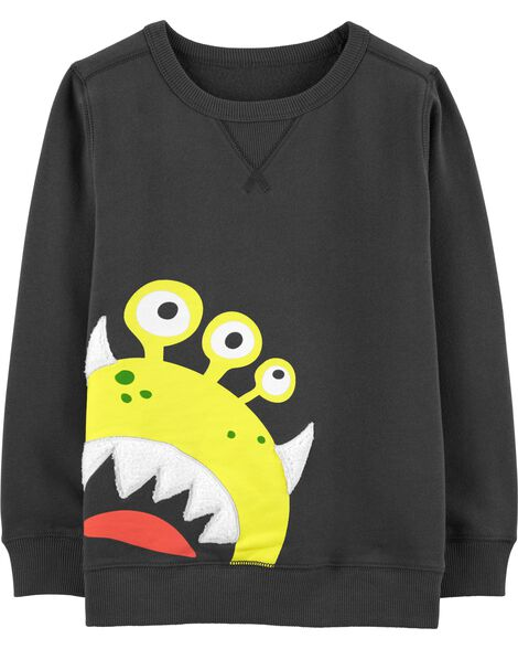 Alien Fleece Sweatshirt