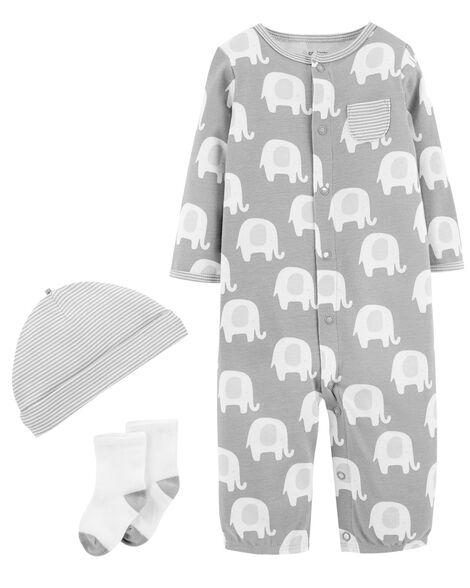 3-Piece Babysoft Converter Gown Set