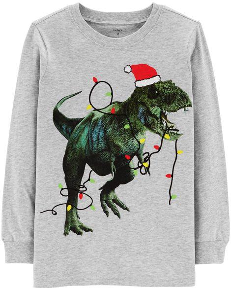 d16a11cbd9f Christmas T-Rex Jersey Tee