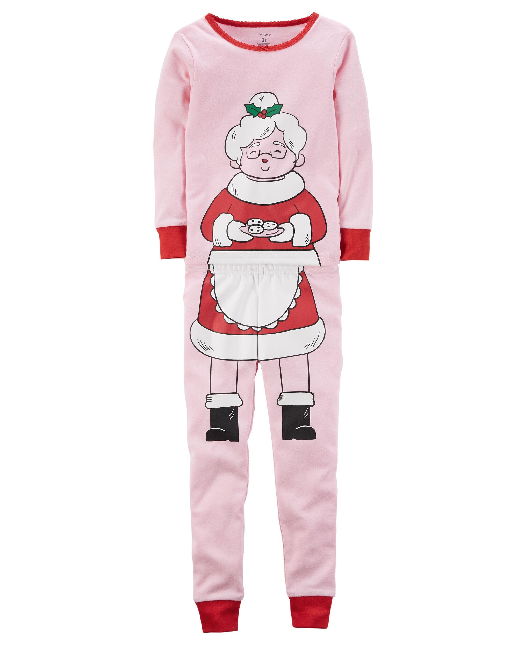 2-Piece Christmas Snug Fit Cotton PJs   Carters.com