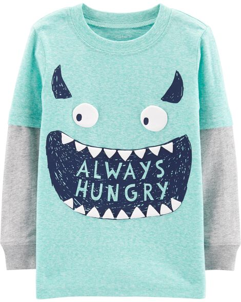 Monster Layered Look Tee