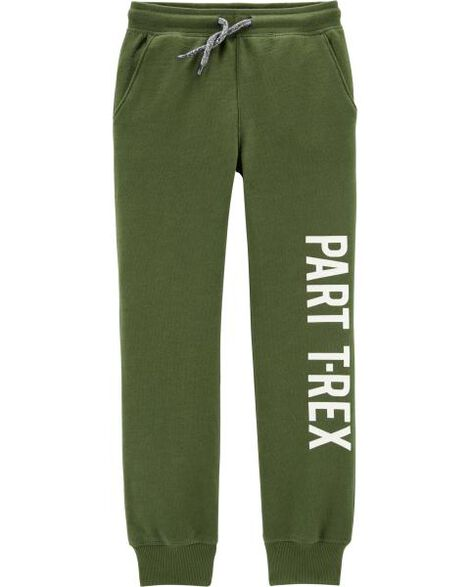 T-Rex Pull-On French Terry Joggers