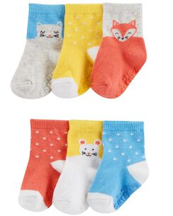 ab4626c0601f6 Baby Girl Socks, Booties & Mittens | Socks & Booties | Carter's