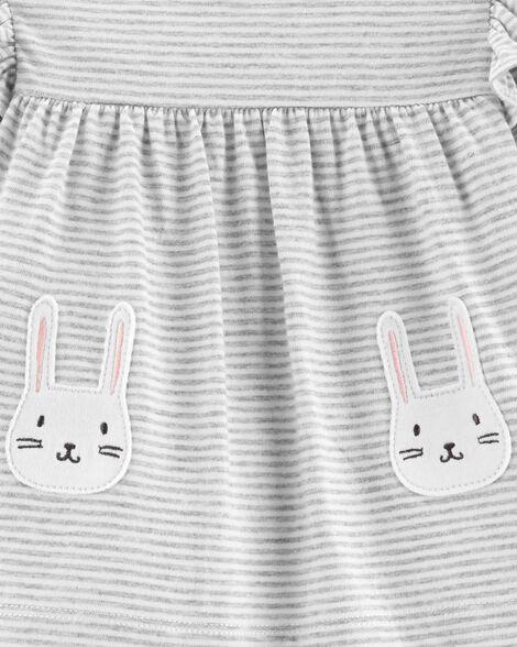 d4c2650f465c 2-Piece Bunny Top & Pant Set   Carters.com