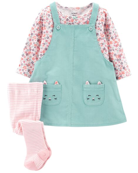 5bd742ddc03 3-Piece Corduroy Jumper Set ...