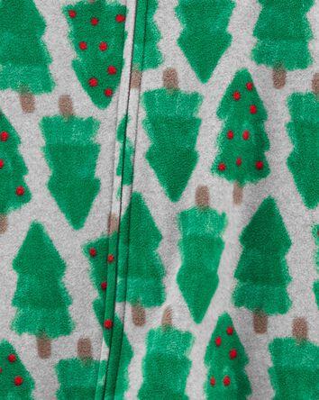 1-Piece Christmas Tree Fleece Footi...