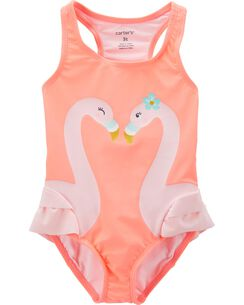 2d75260337 Baby Girl Swimsuits, Bathing Suits & Swimwear | Carter's | Free Shipping