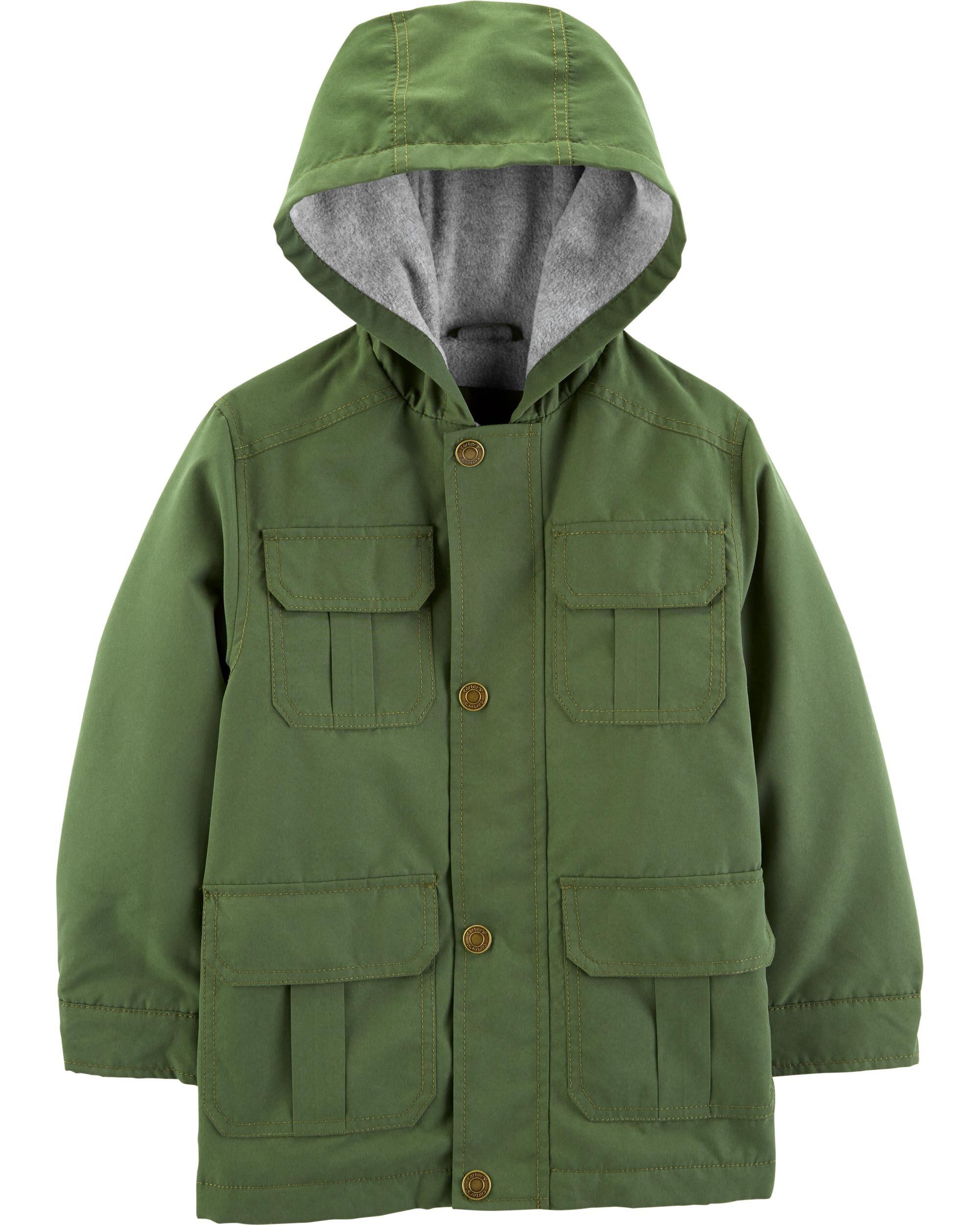 *CLEARANCE* Fleece-Lined Jacket