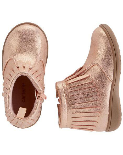 Carter's Shimmer Fringe Boots