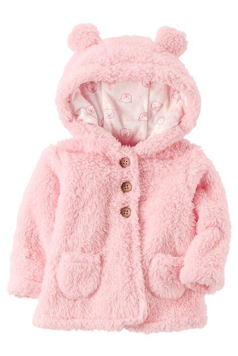 ce111139c Sherpa Hooded Jacket