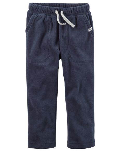 4c620f5c1 Drawstring Fleece Pants | Carters.com