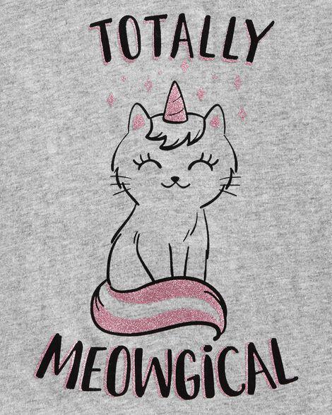 Unicorn Kitty Jersey Tee