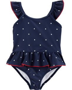 9957281abe06 Carter's Heart 1-Piece Swimsuit