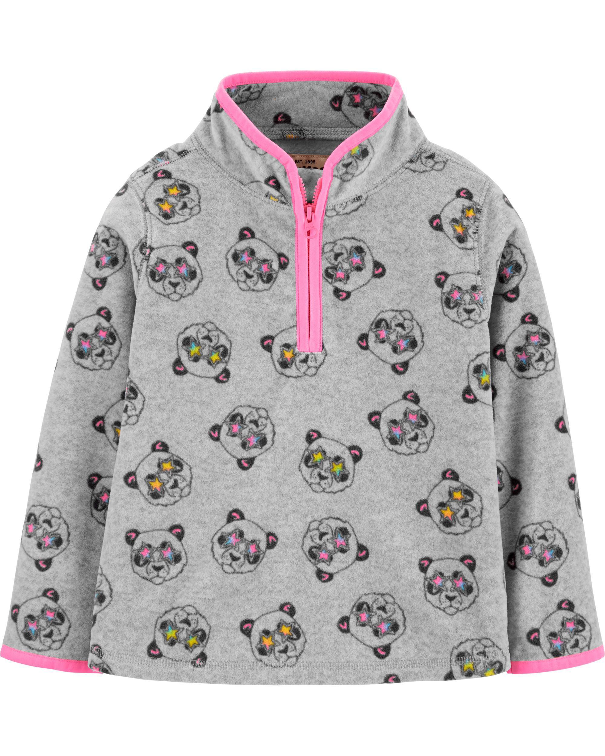 OshKosh BGosh Little Girls Green Winter Penguin Sweater
