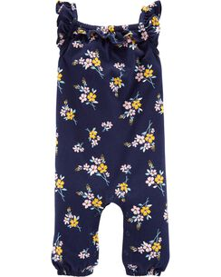 3a304afe6 Baby Girl Jumpsuits | Carters.com