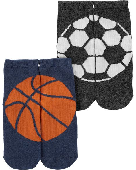 2-Pack Sports Ankle Socks