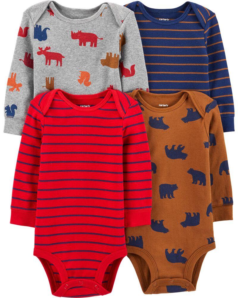 Romper Details about  /Carters Size 6 Months Boys Long Slv