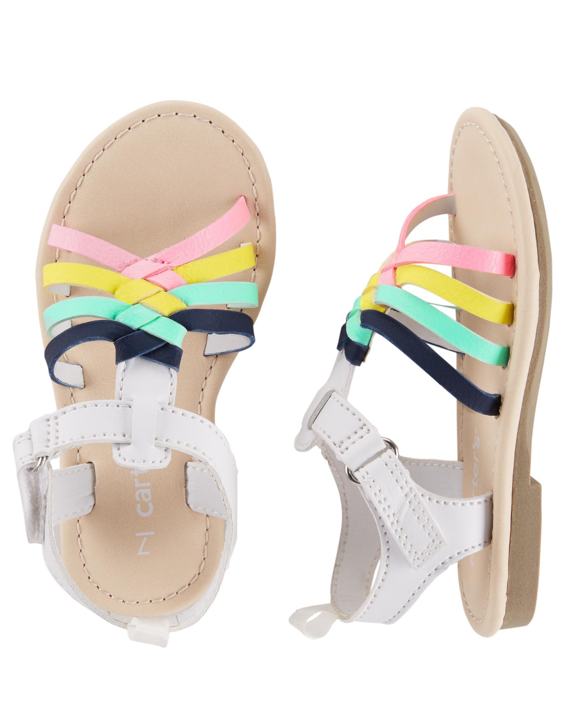 Rainbow Buckle Sandals | carters