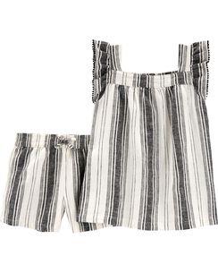 62f99ec82 Girls Tops & T-Shirt Sets | Carter's | Free Shipping