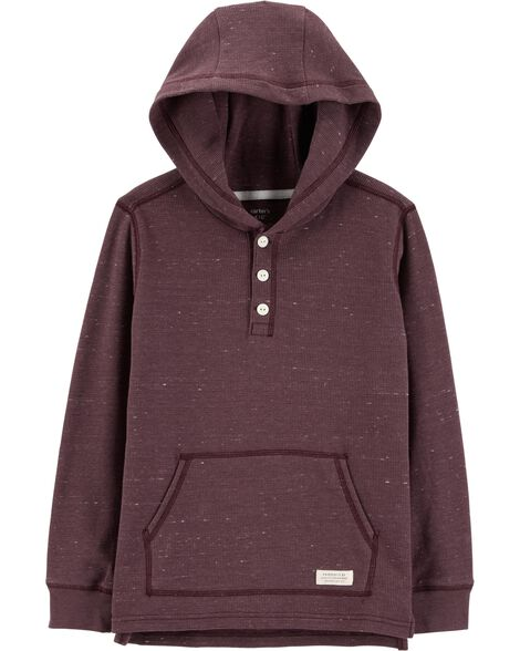 Hooded Thermal Henley