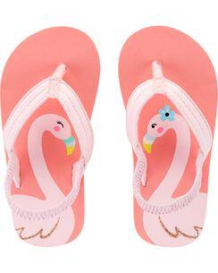 f26512b24 Carter s Flamingo Flip Flops