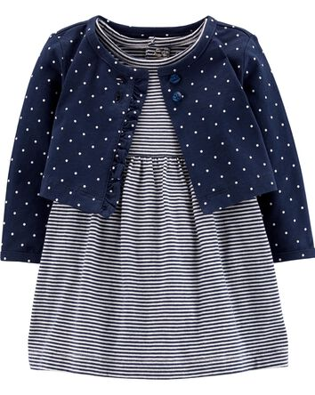 547ecb478db7 Baby Girl Dresses & Rompers | Carter's | Free Shipping
