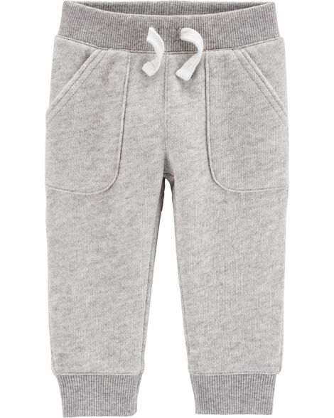 Marled Yarn Pull-On Pants