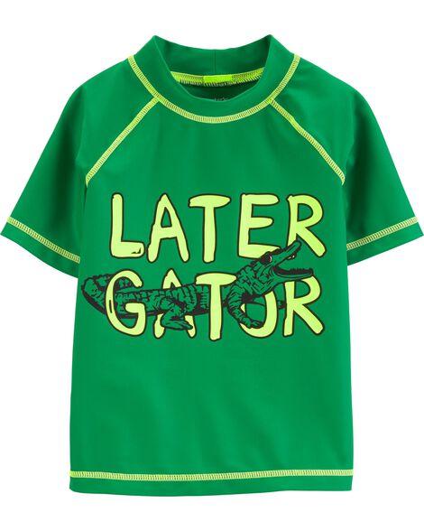 Carter's Later Gator Rashguard