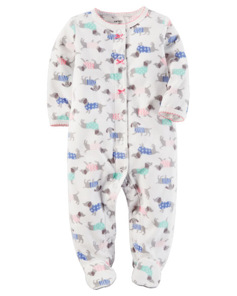983d45c9686c Fleece Snap-Up Sleep   Play