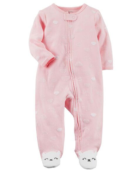 Images. Bunny Zip-Up Cotton Sleep   Play. Loading zoom 6ef549f0f