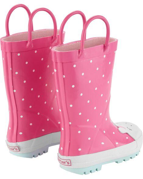 Carter's Unicorn Rain Boots
