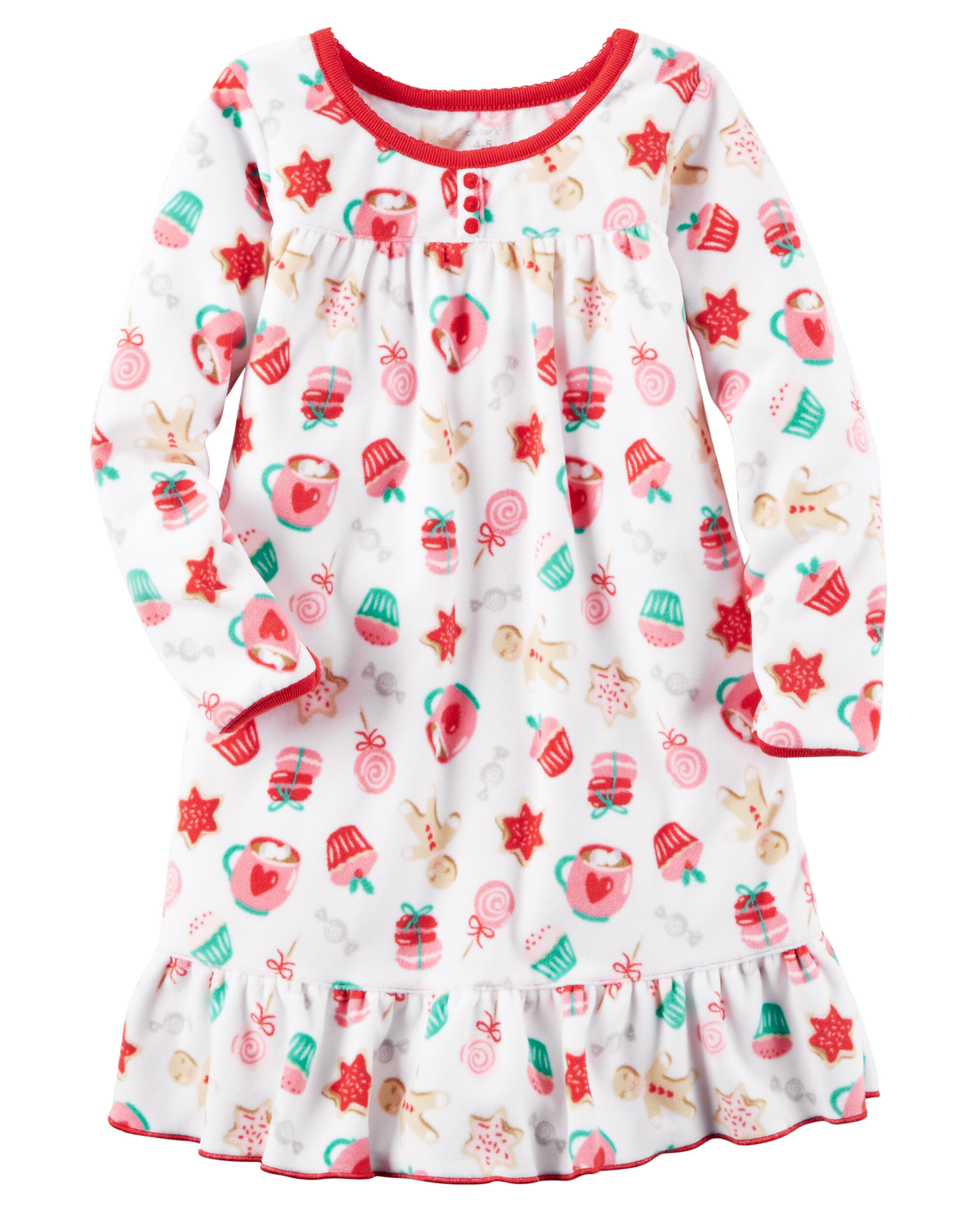 Fleece Sleep Gown | Carters.com