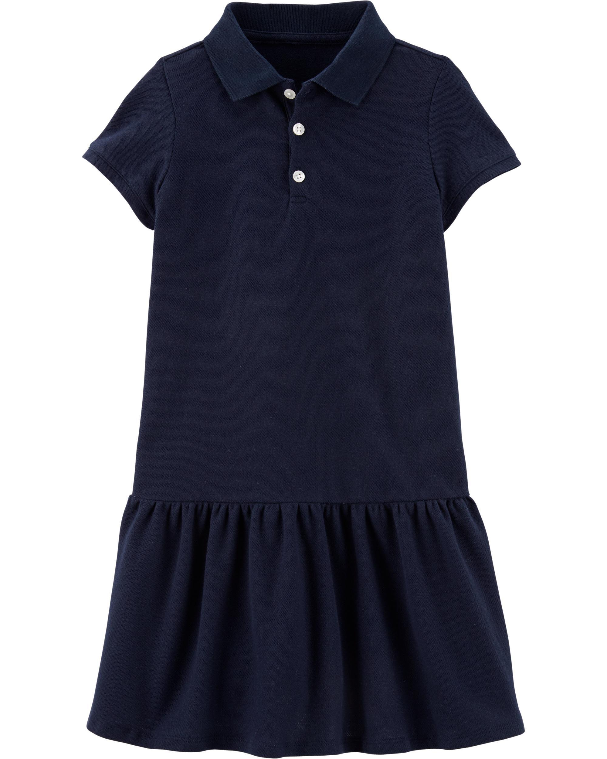 *DOORBUSTER*Piqué Polo Uniform Dress