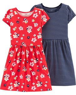 f79cb5ac29df2 Girls' Dresses & Rompers (Size 4-14) | Carter's | Free Shipping