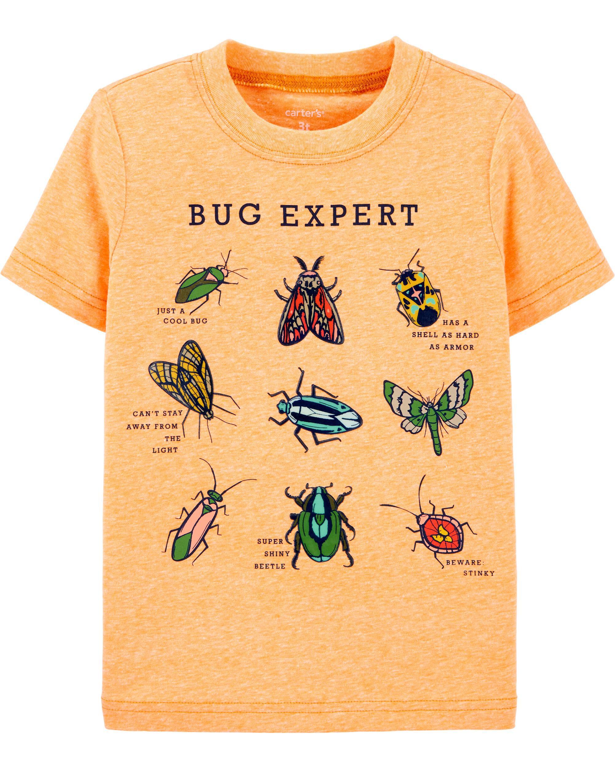 *DOORBUSTER* Bug Expert Snow Yarn Jersey Tee
