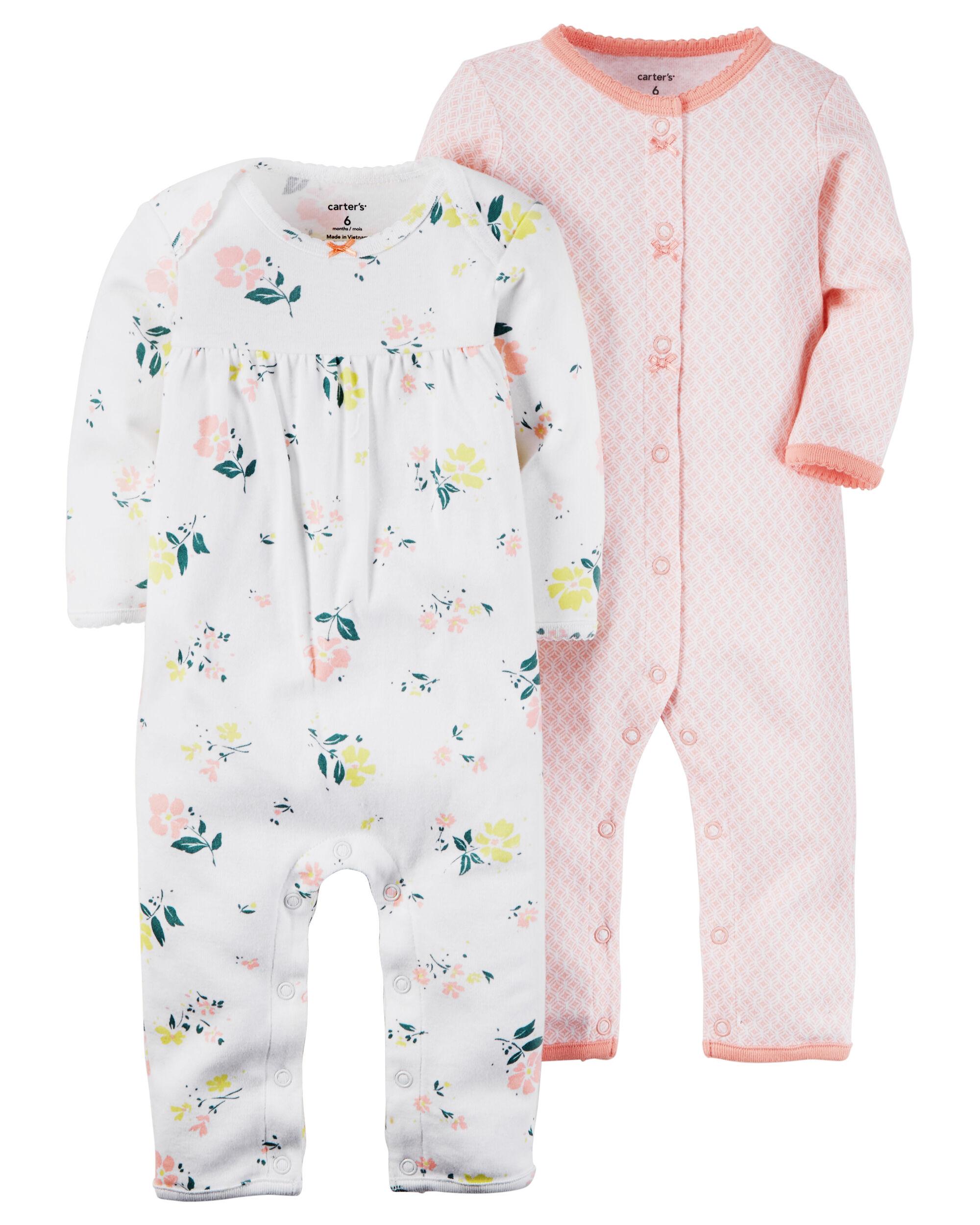 2-Pack Babysoft Coveralls | Carters.com
