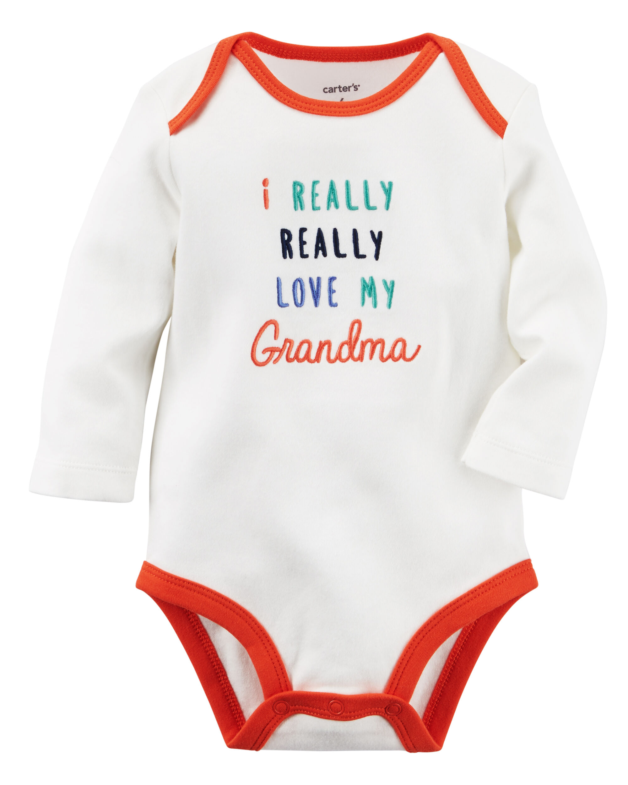 I Really Love My Grandma Collectible Bodysuit