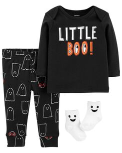 3 piece halloween outfit set