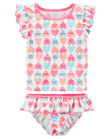 ccf52f678 Carter's Candy Heart Swimsuit | Carters.com