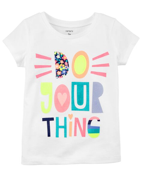 Do Your Thing Jersey Tee